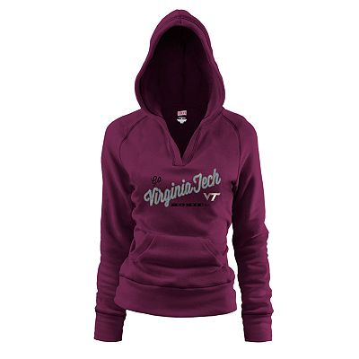 Soffe Virginia Tech Fleece Hoodie - Juniors'