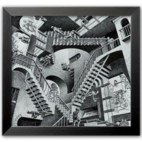 Art.com Relativity Framed Art Print by M.C. Escher