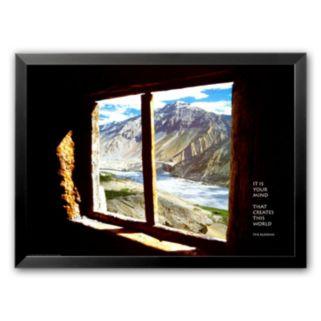 Art.com It Is Your Mind... Framed Art Print