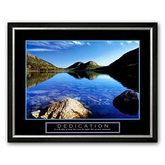 Art.com 'Dedication: Jordan Pond' Framed Art Print by Dermot Conlan