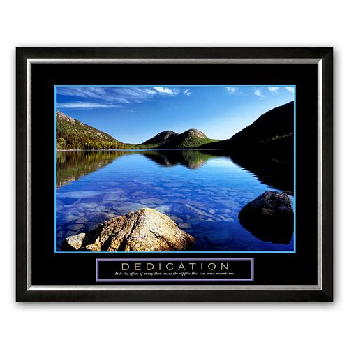 Art.Com Dedication: Jordan Pond Framed Art Print By Dermot Conlan