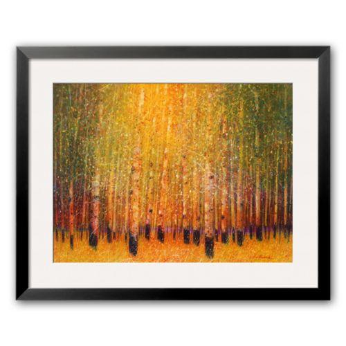 Art.com Aspen Glow Framed Art Print by Gary Max Collins