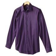Apt. 9 Satin Stripe Dobby Casual Button-Down Shirt
