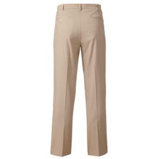 Men's Grand Slam Slim-Fit Performance Easy-Care Flat-Front Pants