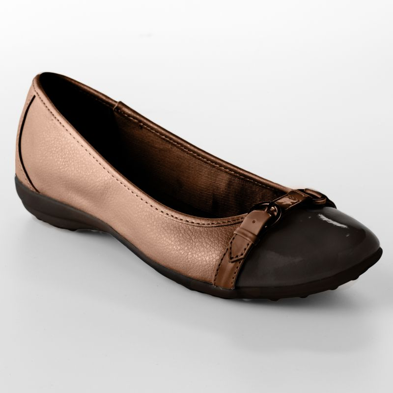 Croft & Barrow Brown sole (sense)ability Flats - Women
