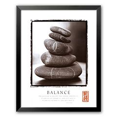 Art.com 'Balance: Rocks' Framed Art Print