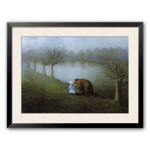 Art.com Bear Framed Art Print by Michael Sowa