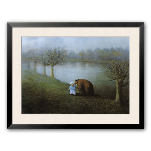 Art.com Bear Framed Art Print by Michael Sowa