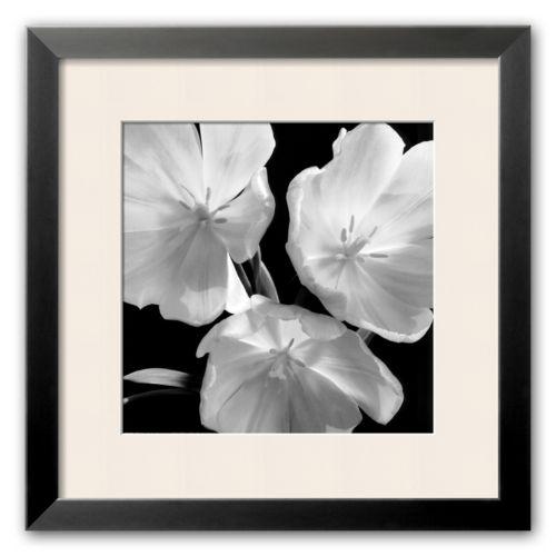 Art.com Red Tulips Framed Art Print by Darlene Shiels