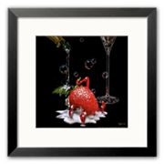 Art.com Bubbly Bath Framed Art Print by Michael Godard