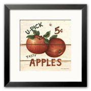 Art.com U-Pick Apples, Five Cents Framed Art Print by David Carter Brown