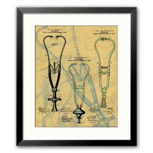 Art.com Stethoscope Framed Art...