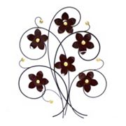 Fetco Floral Bouquet Metal Wall Decor