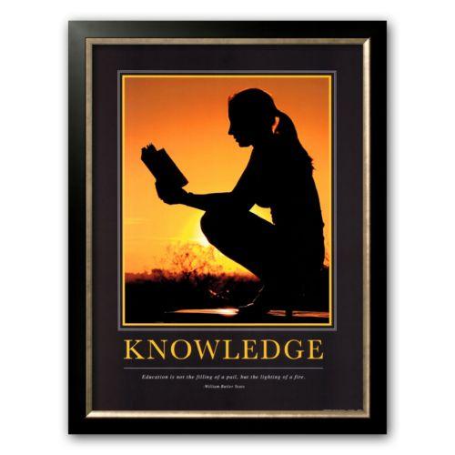Art.com Knowledge Framed Art Print