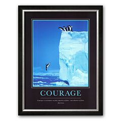 Art.com 'Courage' Framed Art Print by Steve Bloom