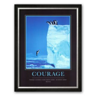 Art.com Courage Framed Art Print by Steve Bloom