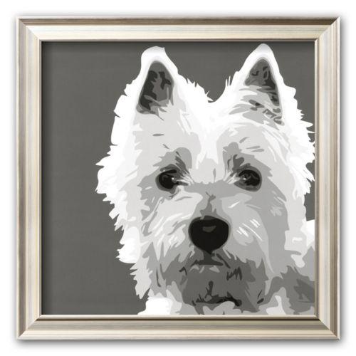 Art.com West Highland Terrier Framed Art Print by Emily Burrowes