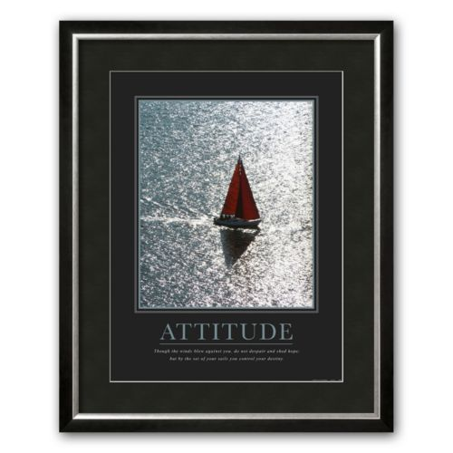 Art.com Attitude: Sailing Framed Art Print