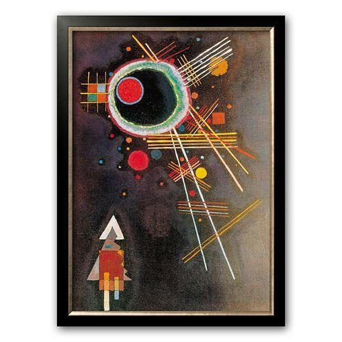 "Art.com ""Strahlenlinien"" Framed Art Print by Wassily Kandinsky"
