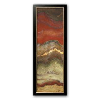 Art.com Tierra Panel I Framed Art Print by Patricia Quintero-Pinto