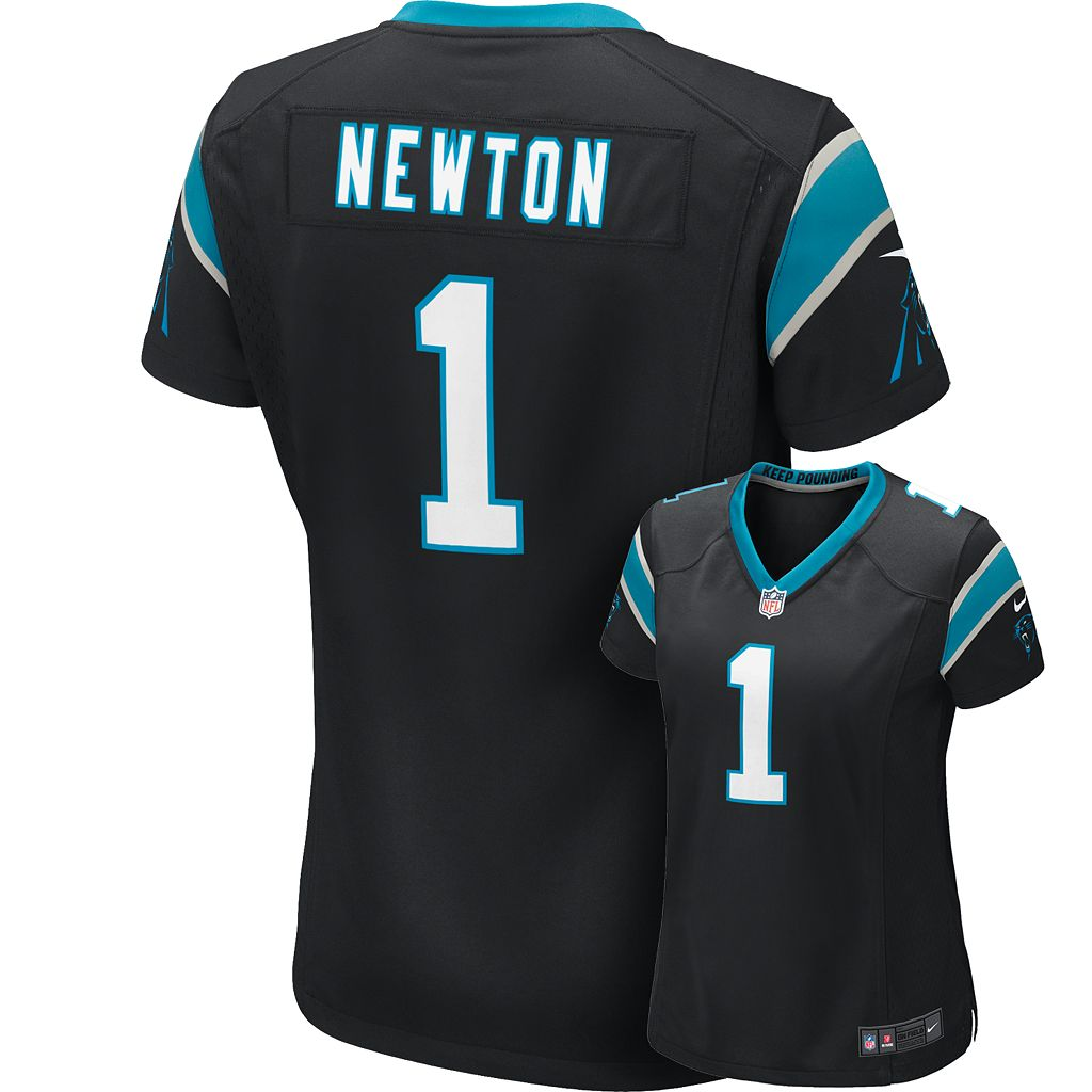 Women's Nike Carolina Panthers Cam Newton NFL Jersey