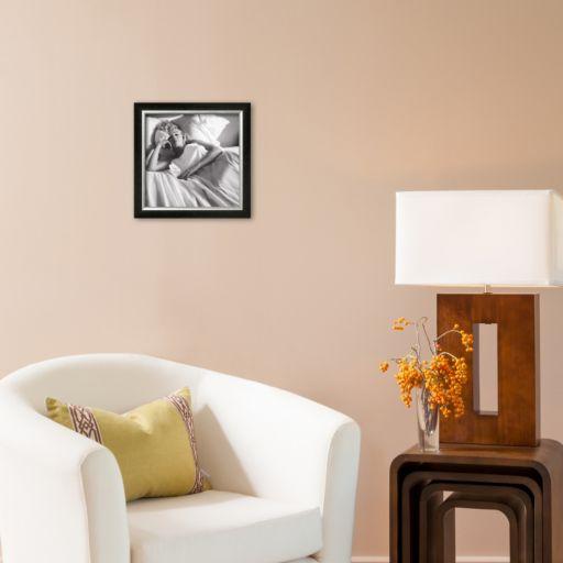 Art.com Marilyn Monroe Bed Framed Art Print