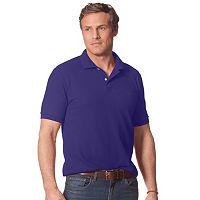 Men's Chaps Solid Pique Polo