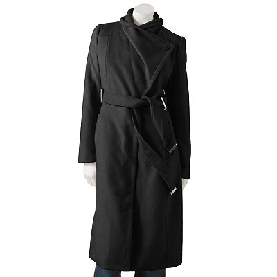 Jennifer Lopez Long Wool Coat