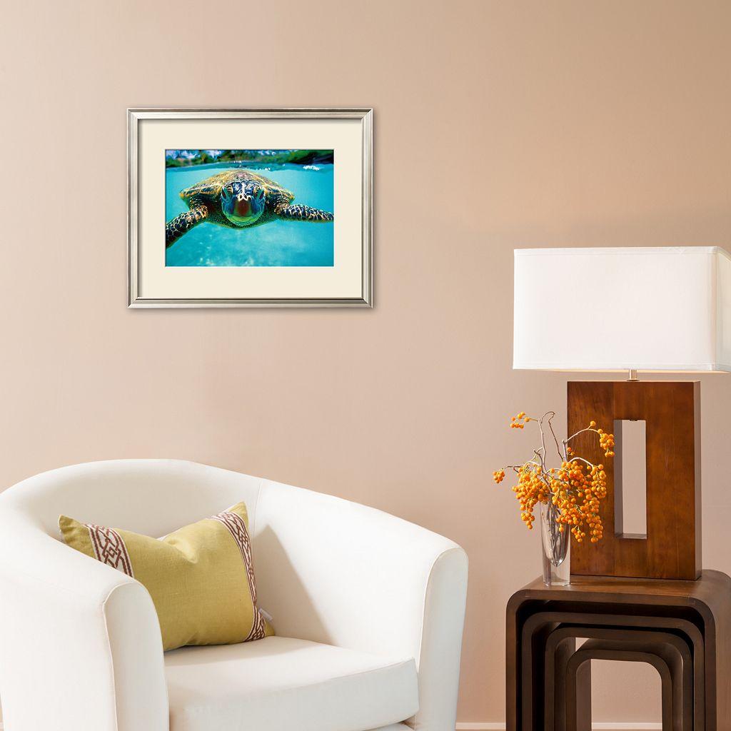 Art.com Honu, Turtle Framed Art Print by Kirk Lee Aeder