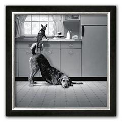 Art.com 'Busted' Framed Art Print by Howard Berman