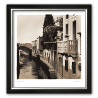 Art.com Ponti di Venezia No. 5 Framed Art Print by Alan Blaustein