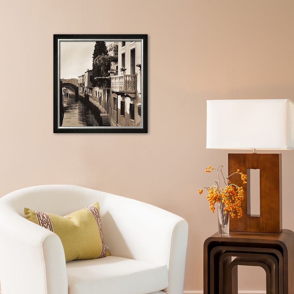 Art.com Ponti di Venezia No. 5 Framed Art Print by Alan Blaustein