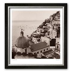 Art.com 'Positano Vista' Framed Art Print by Alan Blaustein