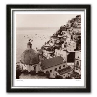 Art.com Positano Vista Framed Art Print by Alan Blaustein