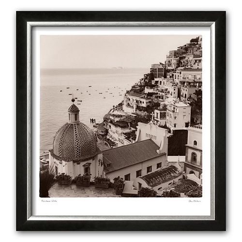 Art.com Positano Vista Framed Art Print by Alan Blaustein