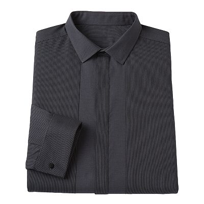 Rock and Republic Slim-Fit Spread Collar Textured Dress Shirt