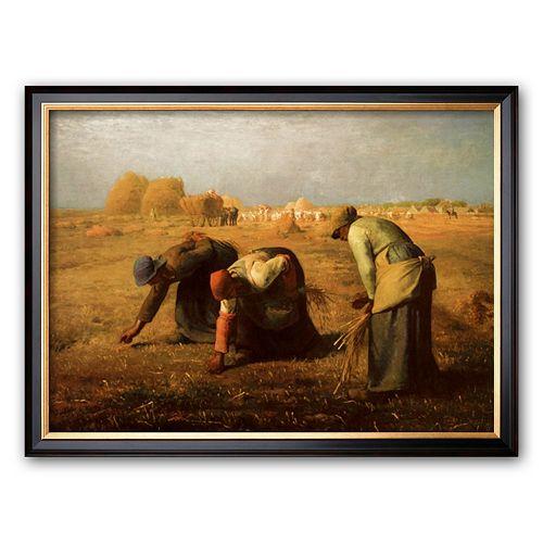Art.com The Gleaners Framed Art Print by Jean-Francois Millet