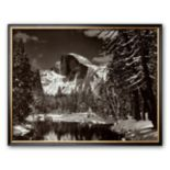 "Art.com ""Half Dome, Merced River, Winter"" Framed Art Print by Ansel Adams"