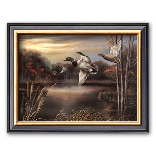 Art.com Morning Call Framed Art Print by Ruane Manning