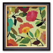 Art.com 'Floral Tile IV' Framed Art Print by Kim Parker