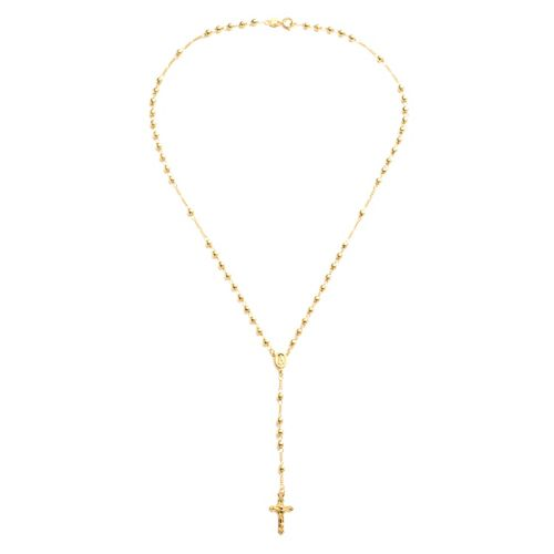14k Gold Over Silver Plate Rosary Necklace by Kohl's