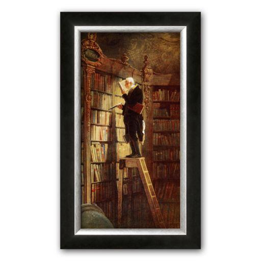 Art.com Bookworm Framed Art Print By Carl Spitzweg