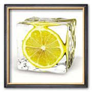 Art.com Iced Lemon Framed Art Print