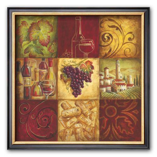 Art.com Tuscan Wine II Framed Art Print by Gregory Gorham