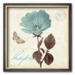 "Art.com ""Touch of Blue III, Hope"" Framed Art Print by Katie Pertiet"