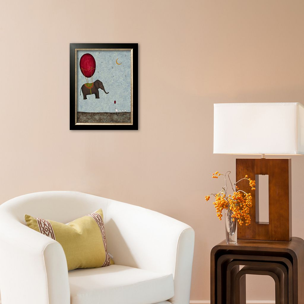 Art.com The Arrival Framed Art Print by Shari Beaubien