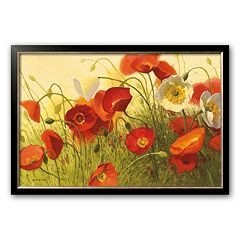 Art.com Havin' a Heat Wave Framed Art Print by Shirley Novak
