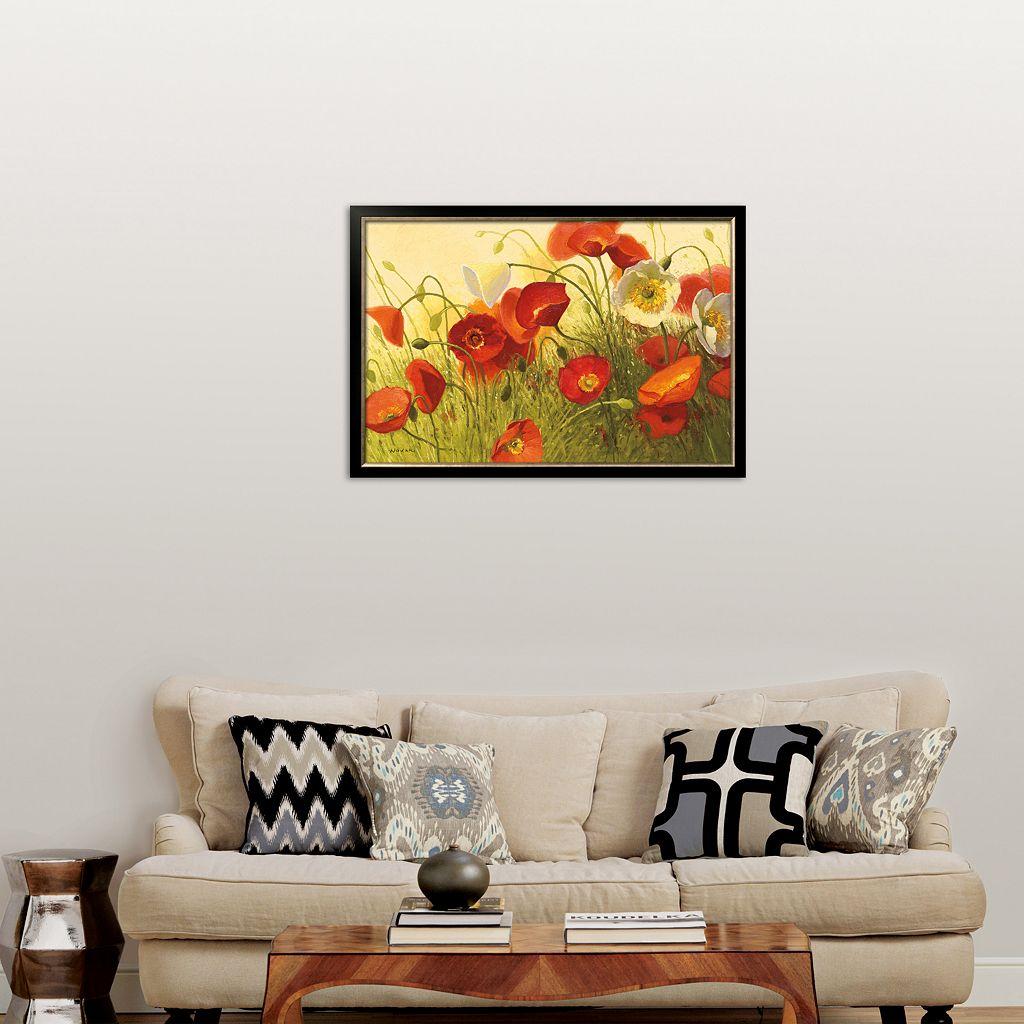Art.com Havin' a Heat Wave Framed Art Print by Shirley Novak