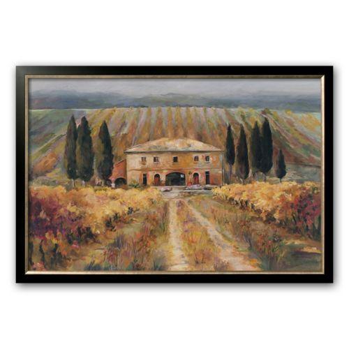 Art.com Toscan Vigna Framed Art Print by Marilyn Hageman