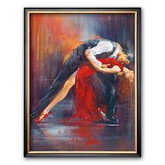 Art.com 'Tango Nuevo II' Framed Art Print by Pedro Alverez